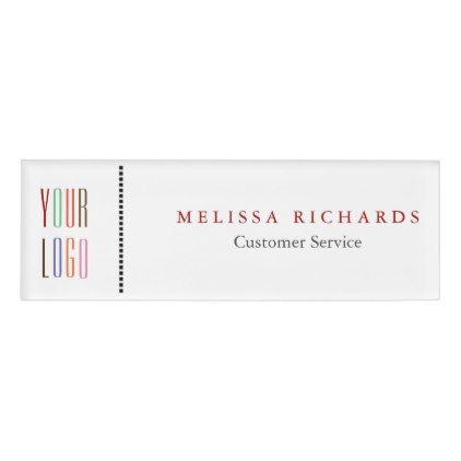 Personalized Small Name Badge  Badges