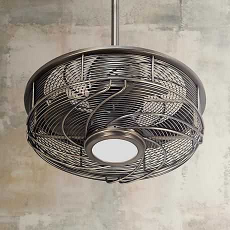 17 Casa Vestige Antique Bronze Cage Led Ceiling Fan 5d998