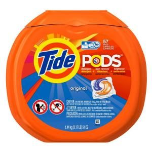 #HomeDepot: 57-Count Tide Pods (Original Scent) for $9.88 (or $7.88 after coupon) at Home Depot #LavaHot http://www.lavahotdeals.com/us/cheap/57-count-tide-pods-original-scent-9-88/82727