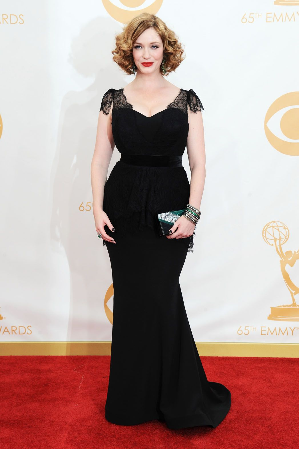 a633098116e5a Christina Hendricks in Christian Soriano. The best she has ever looked on  the red carpet!