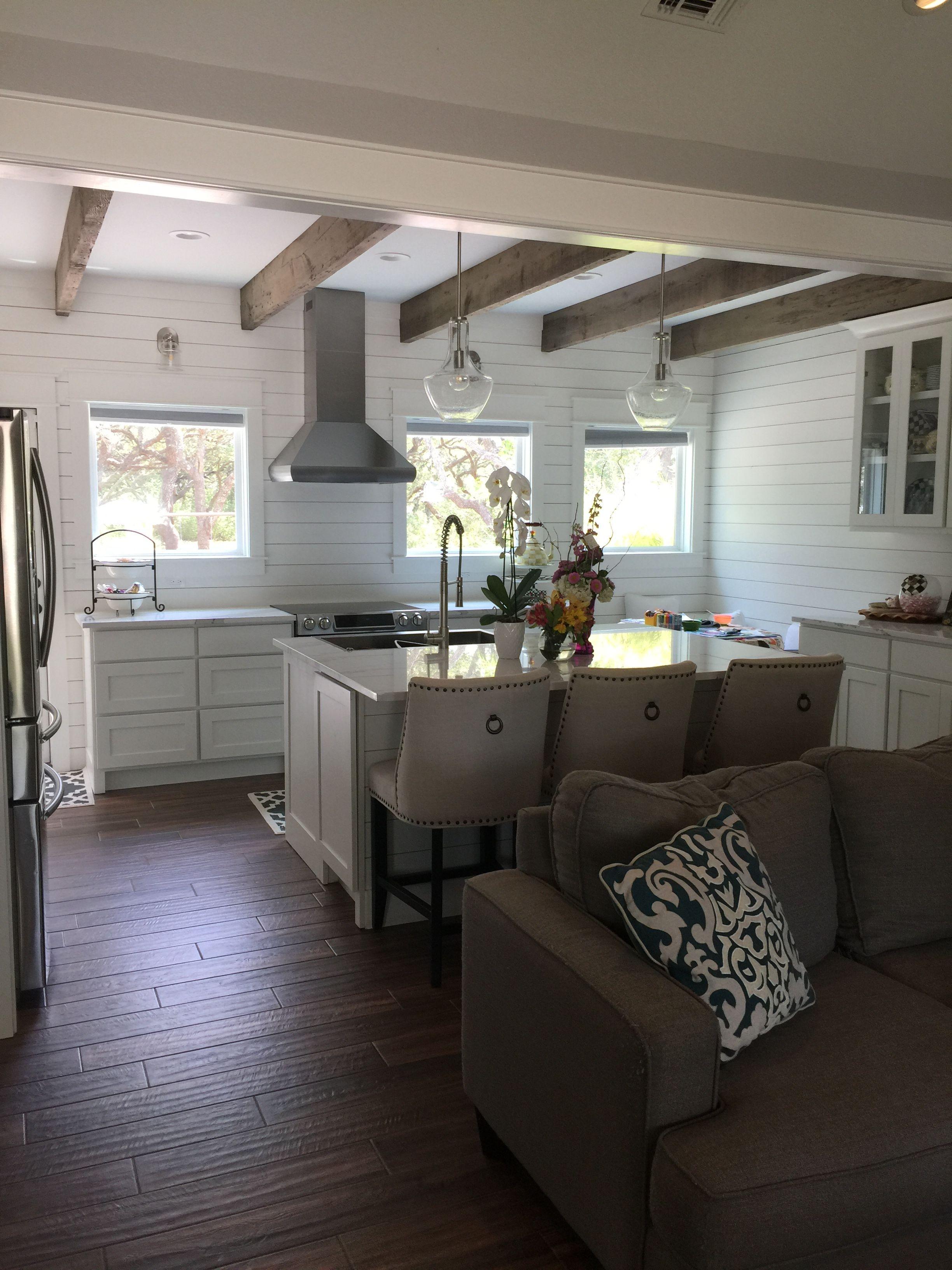 Ship lap kitchen