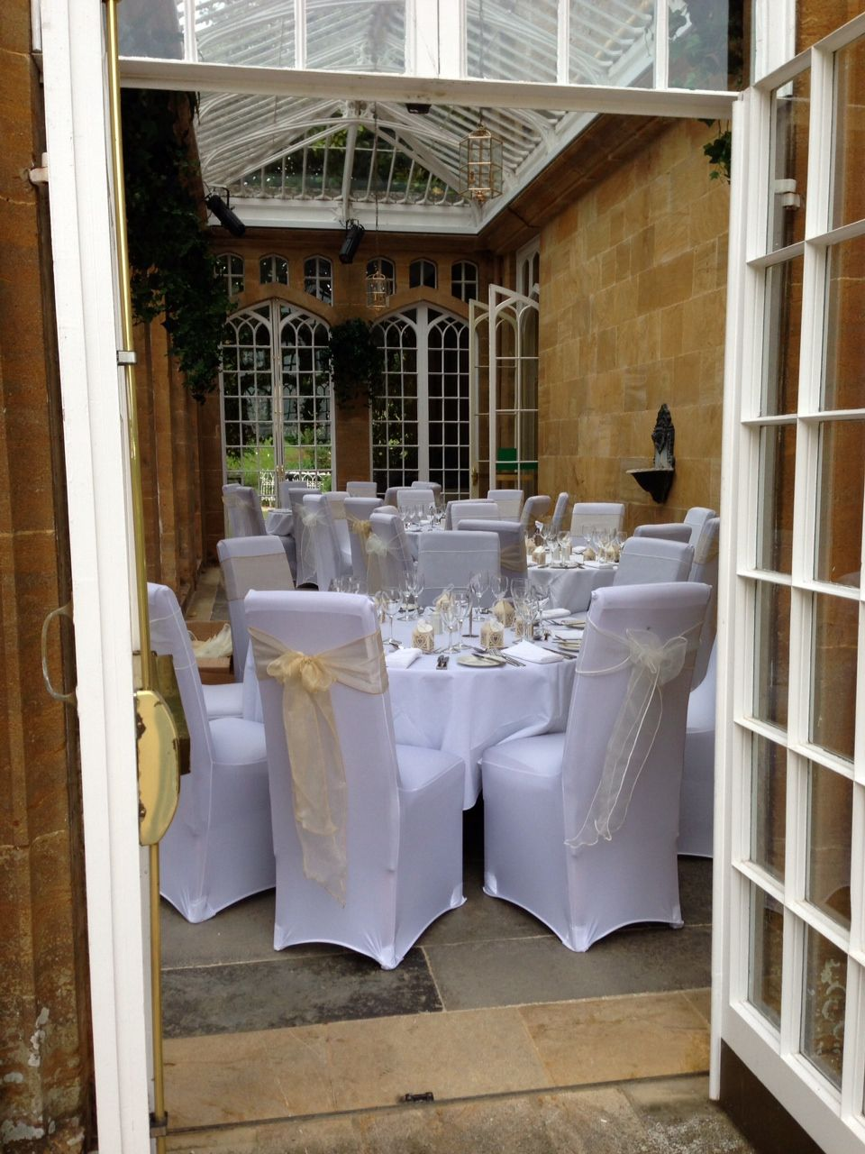 Chair Covers Yeovil Wedding Or Not At Dillington House Ilmister Somerset Decor