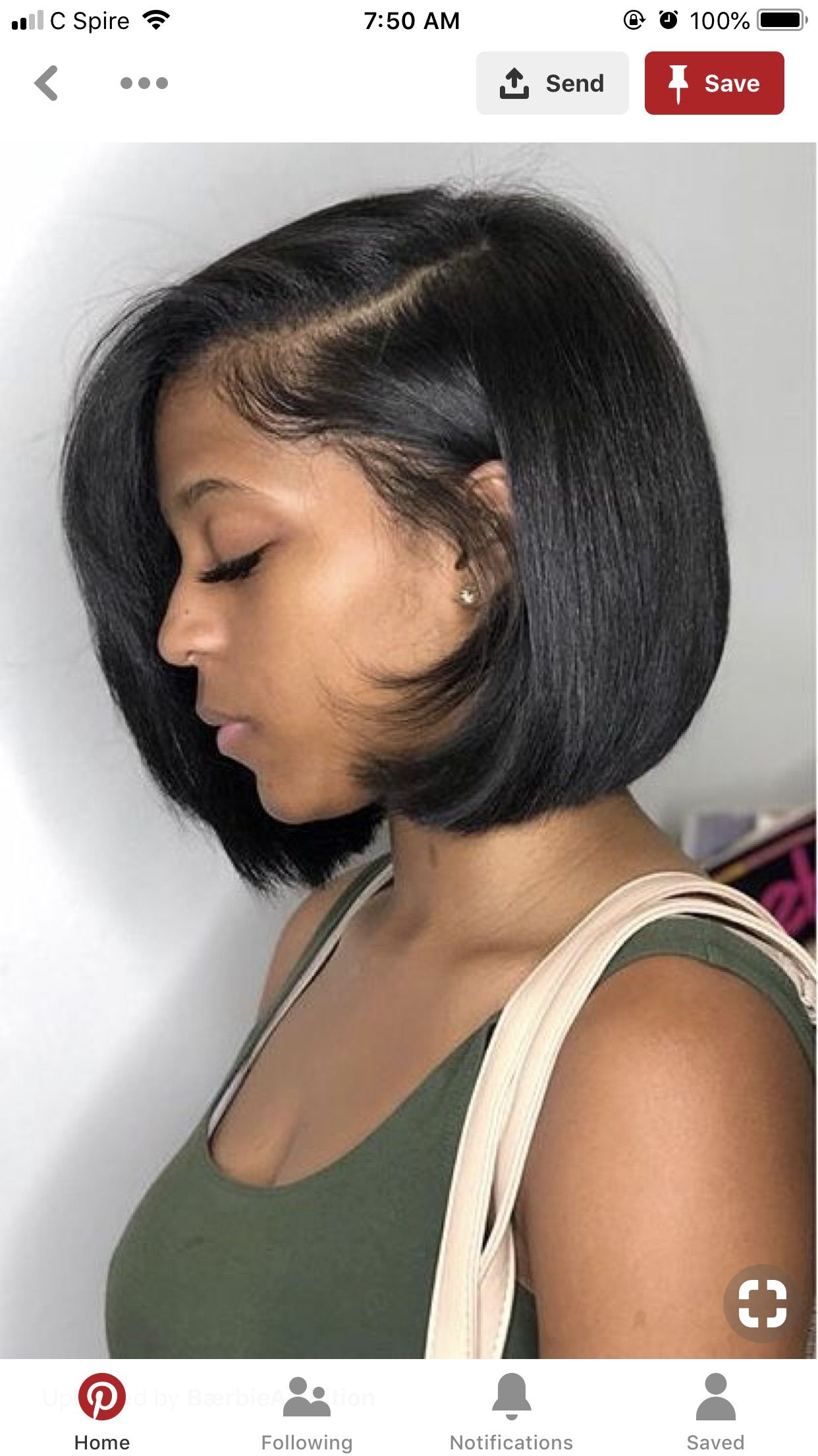 Pin By Princess James On Glam Sqaud Wig Hairstyles Hair