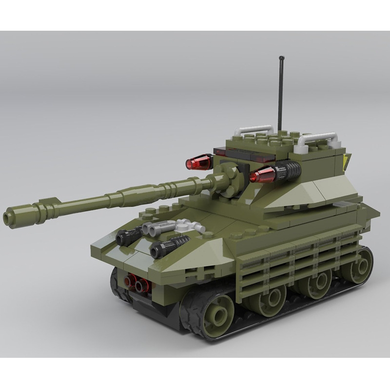 39.90$  Watch now  - Large Military Tanks Building Blocks Toys For Children tank Bricks Educational Toy Kids Birthday Gift