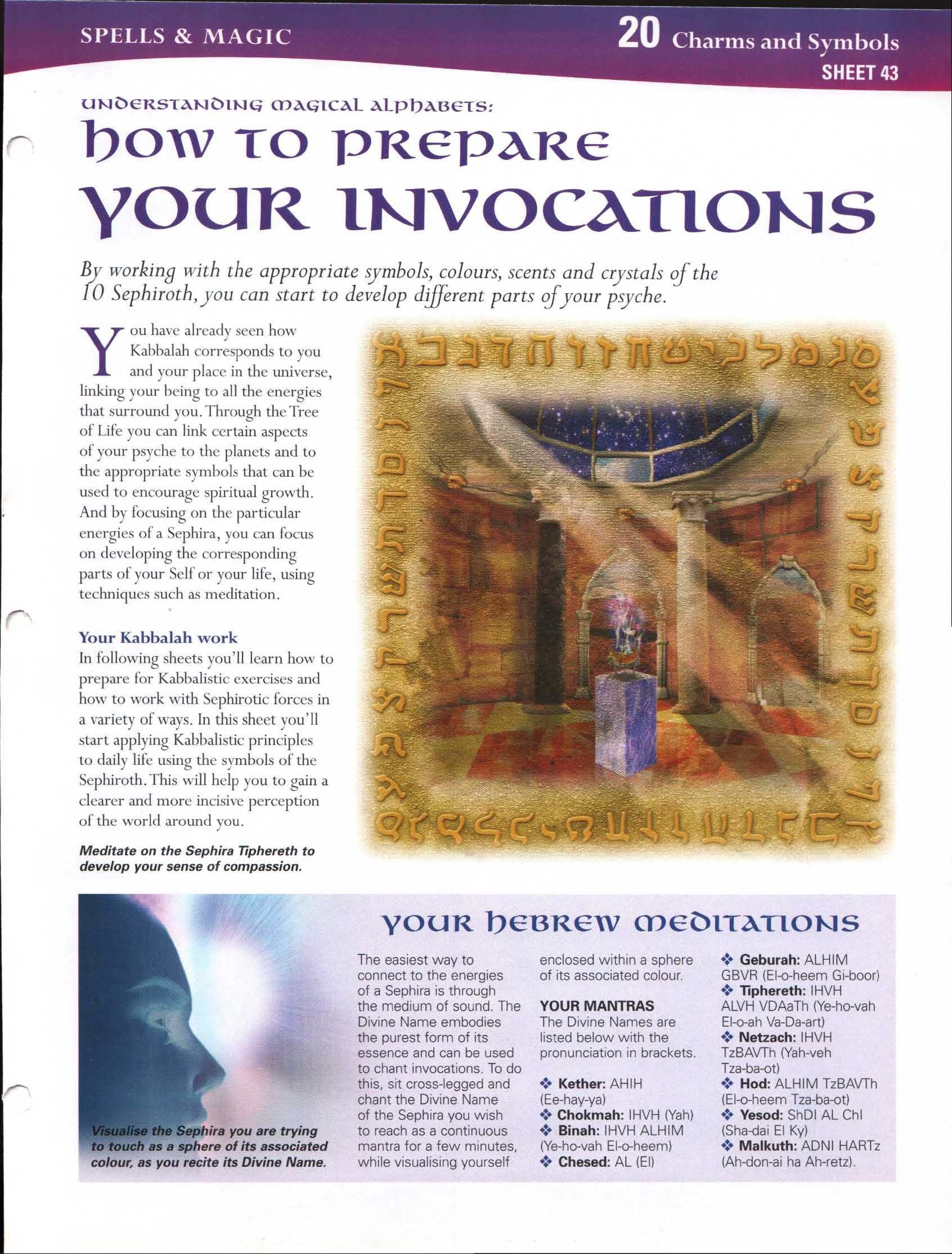 Understanding Magickal Alphabets: How to Prepare Your Invocations