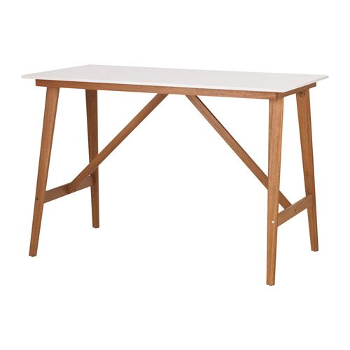 Fanbyn Bar Table White 55 1 8x30 3 4x37 3 8 Bar Table Ikea Ikea Bar Pub Table
