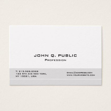 Create your own modern professional elegant business card simple create your own modern professional elegant business card simple clear clean design style unique diy reheart Gallery