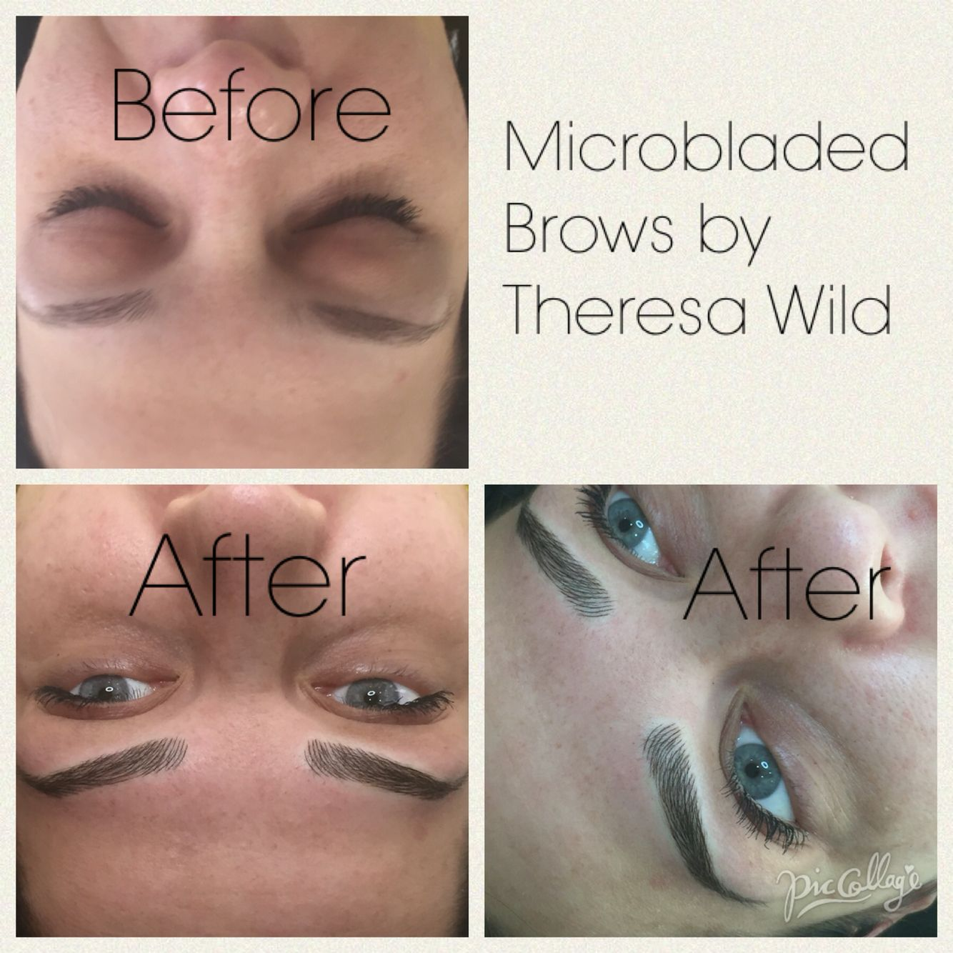 Microbladed brows by me!! Taking bookings for February now
