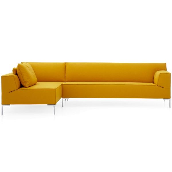 design on stock bloq bank 3 zits 1 arm chaise longue modern