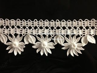 crochet edging  #@Af's collection