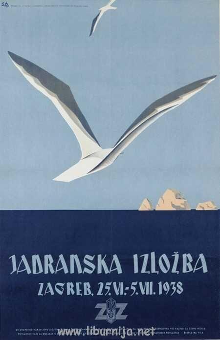 Liburnija.net: Sergije Glumac - Jadranska izložba 1938. | Vintage ...