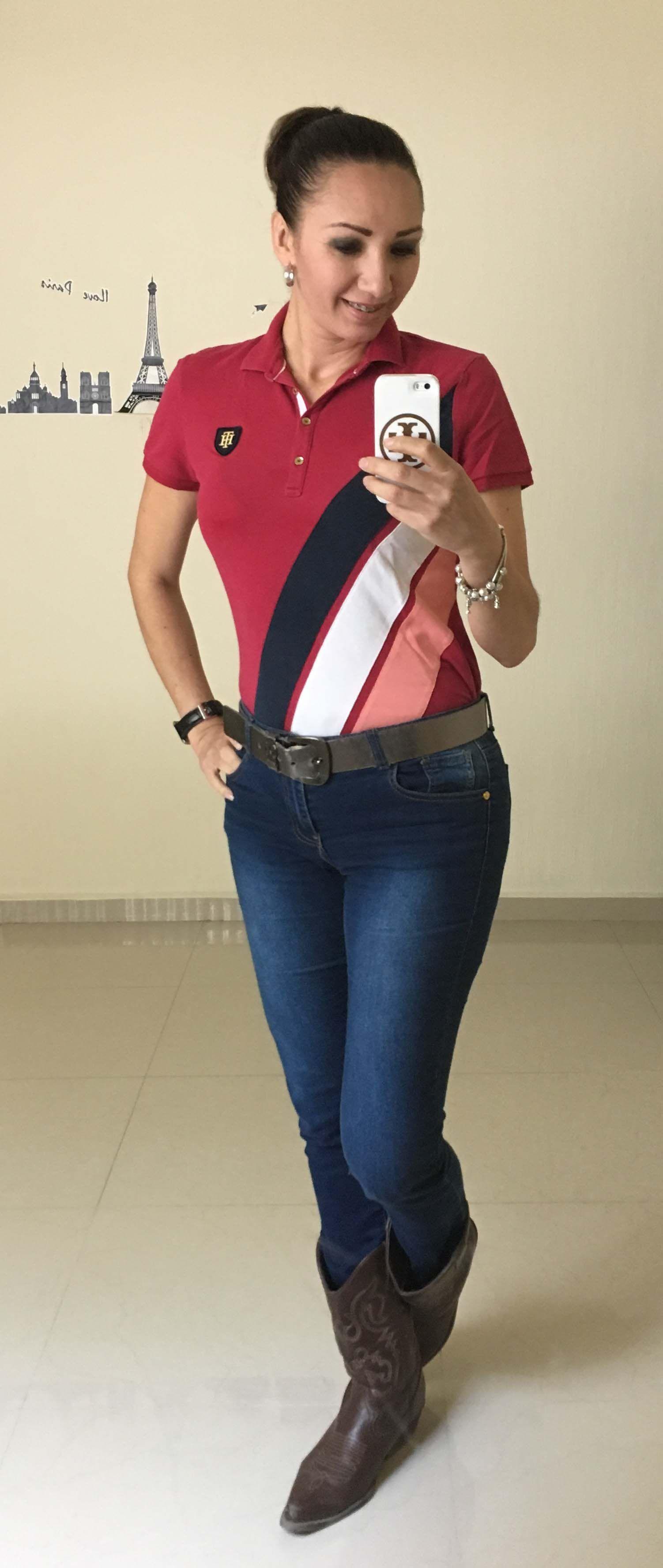 25f0dd350e2 TH polo shirt