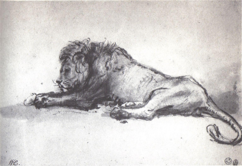 Liggende leeuw 1652