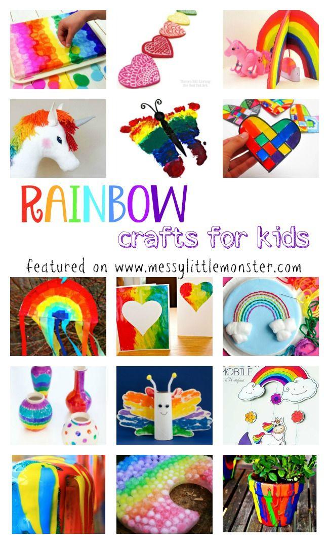 Rainbow Craft And Activity Ideas For Kids Craft Rainbow Crafts