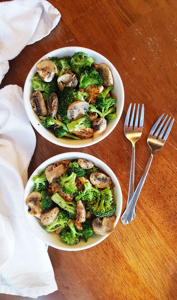 Broccoli Tofu Bowls