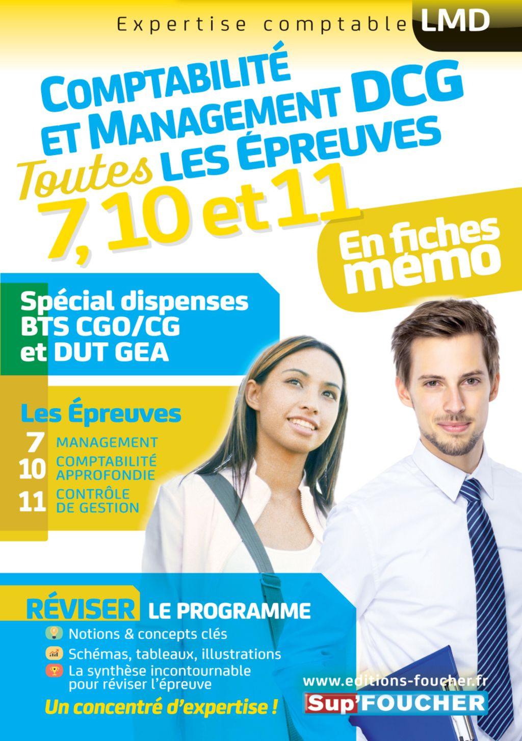 Dcg Compta Management Toutes Les Revisions De L Ue 7 10 11 Special Dispense Bts Cg Et Dut Gea Ebook Books Memes Management
