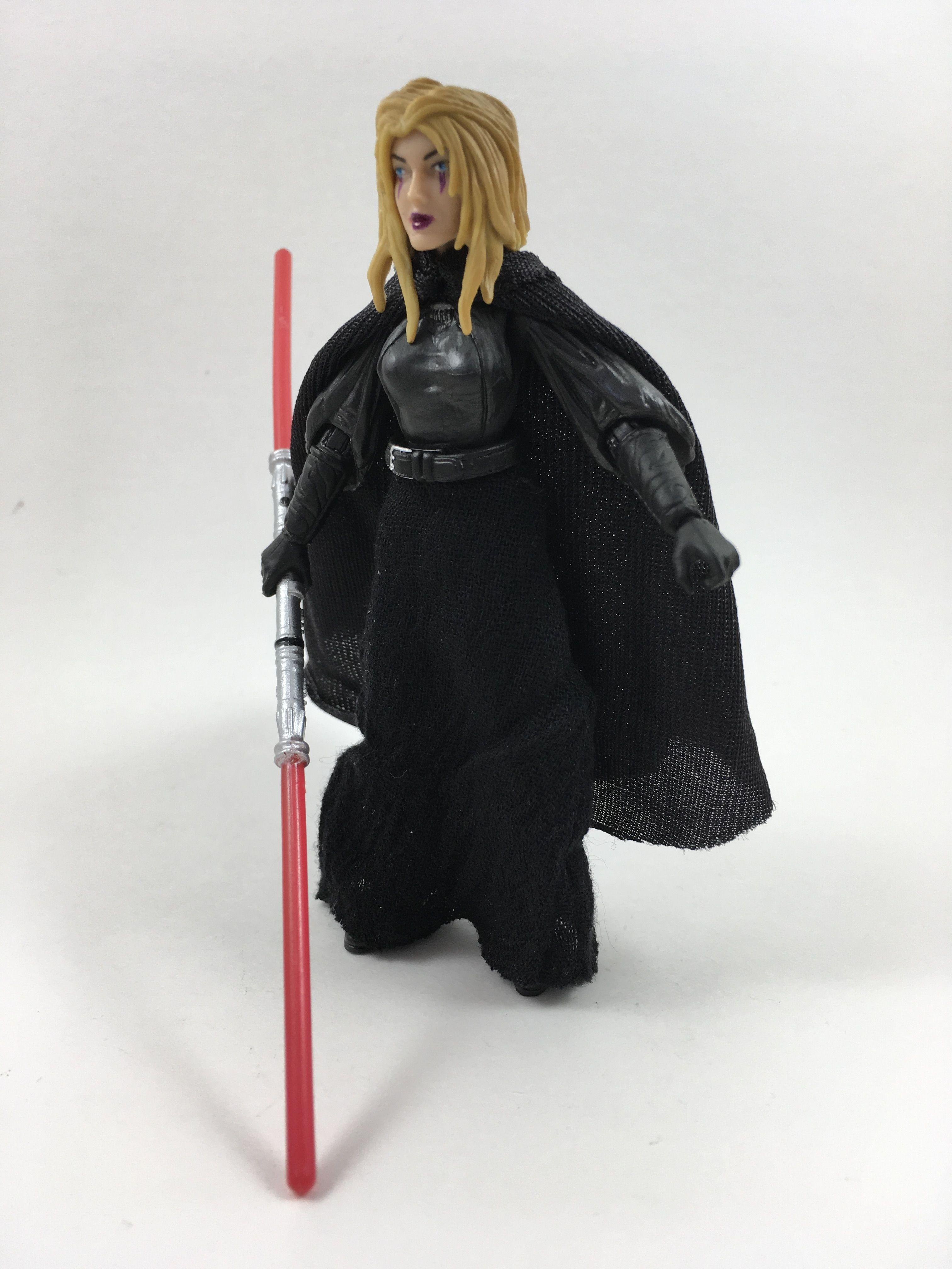 Custom Star Wars 6in Black Series Lowbacca figure sith jedi chewbacca jaina solo
