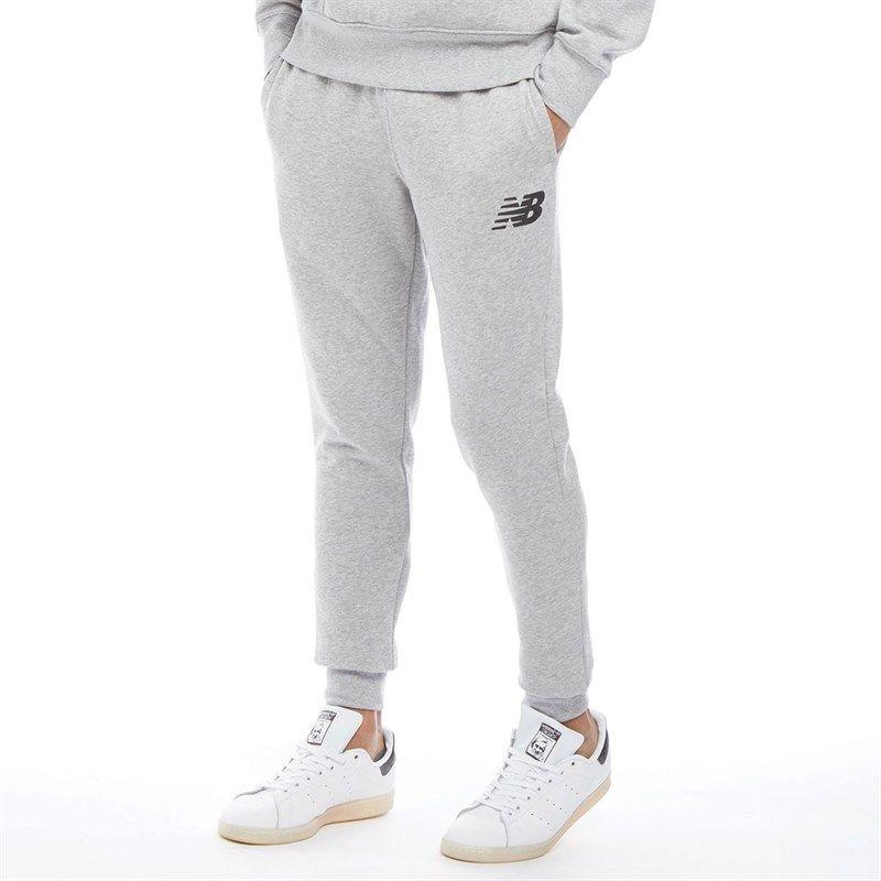 New Balance Mens Slim Fleece Pants Athletic Grey | Fleece pants ...