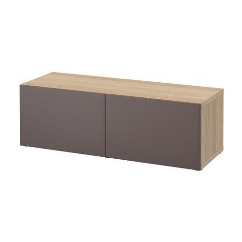 regal mit t ren best eicheneff wlas valviken dunkelbraun. Black Bedroom Furniture Sets. Home Design Ideas