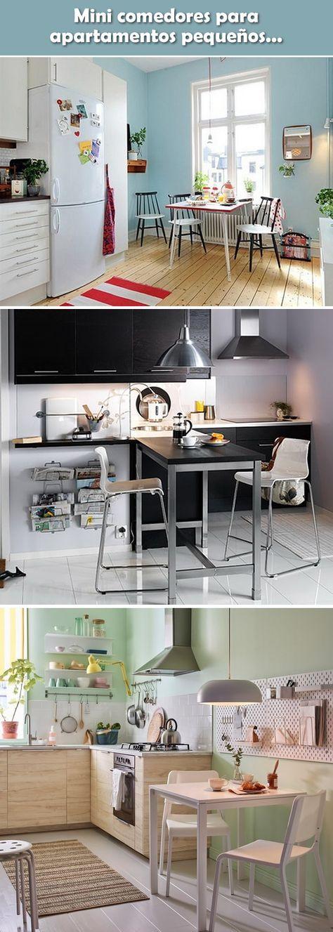 Comedores pequeños. Ideas para decorar comedores.   Ideas casa ...