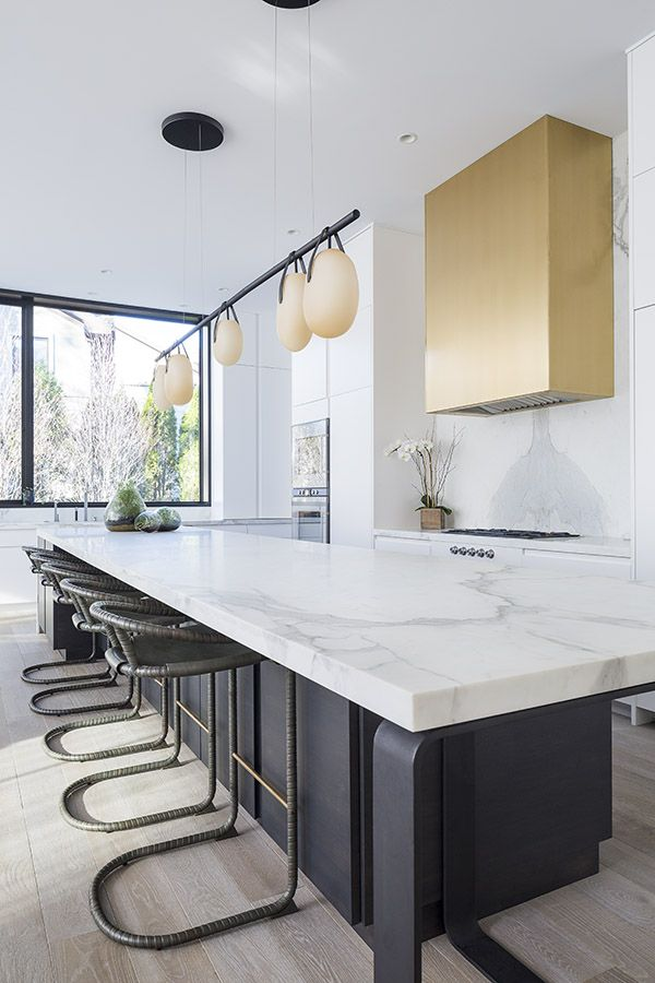 Best Modern Calacatta Gold Borghini Extra Marble Kitchen 640 x 480