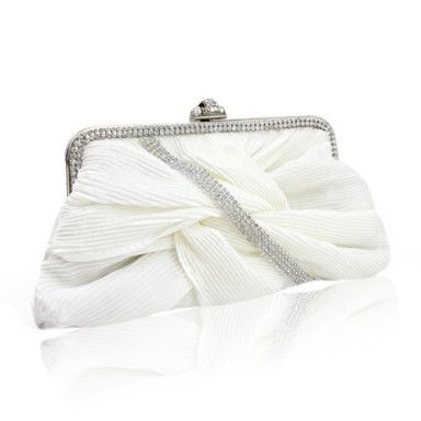 Gorgeous Satin With Austria Rhinestones Evening Handbags More Colors Available – US$ 29.99