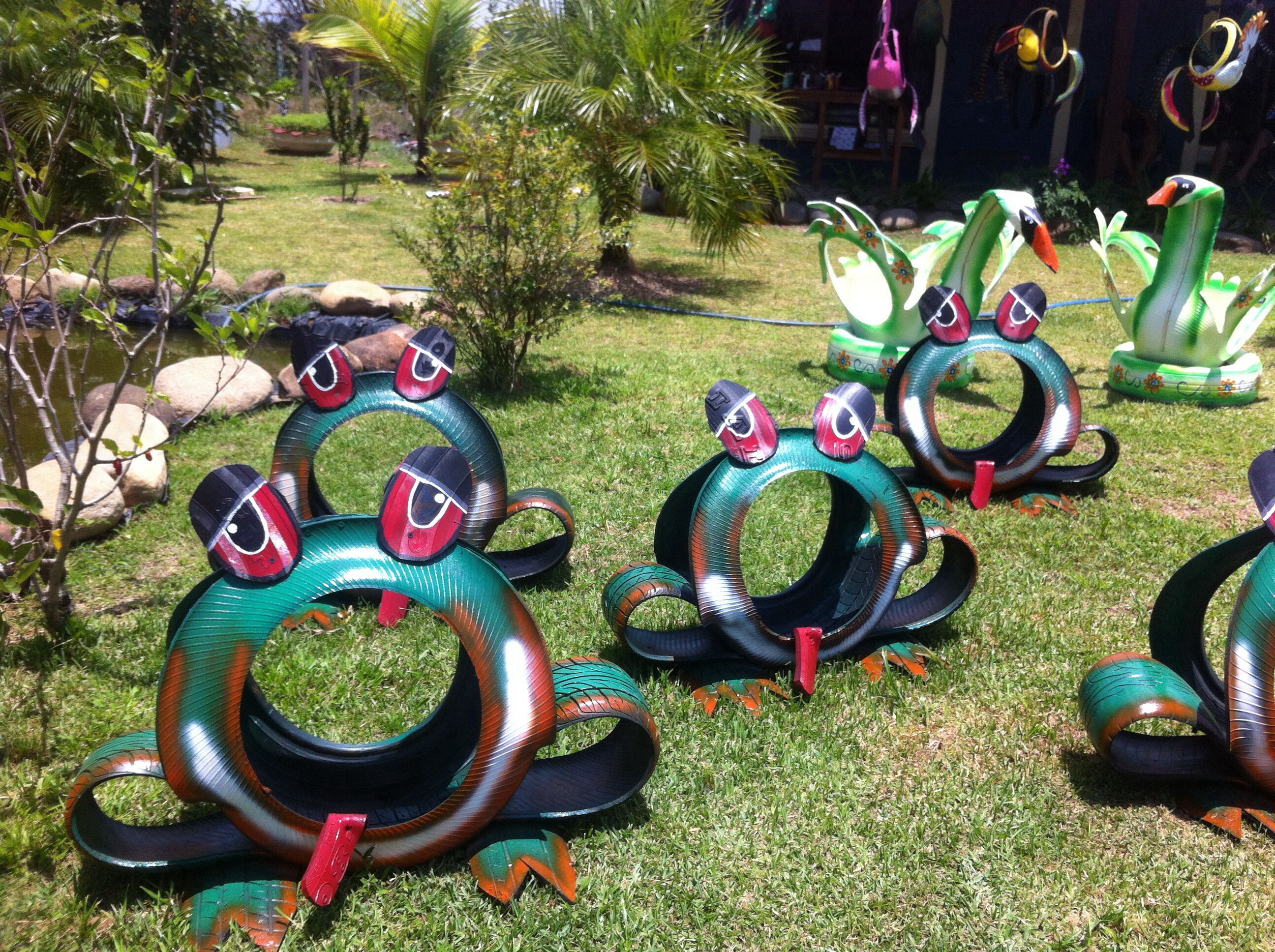 My Little Frog Invasion My Recycled Tires Tire