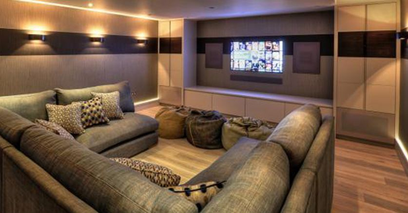 Cine casa ubicacion sala de cine en casa pinterest sala estar salas e arquitetura - Butacas cine en casa ...