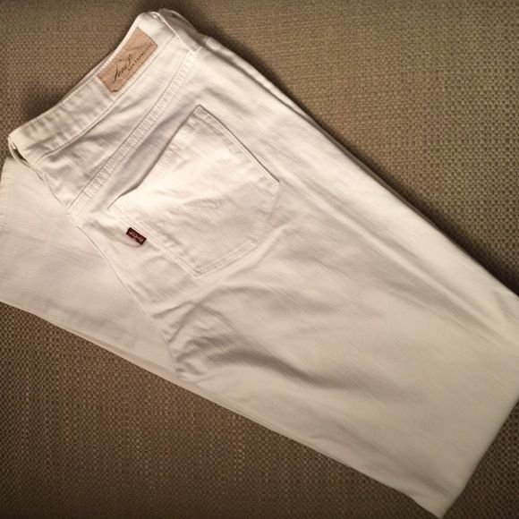 White Levi's Jeans White, no stains Levi's Jeans Skinny