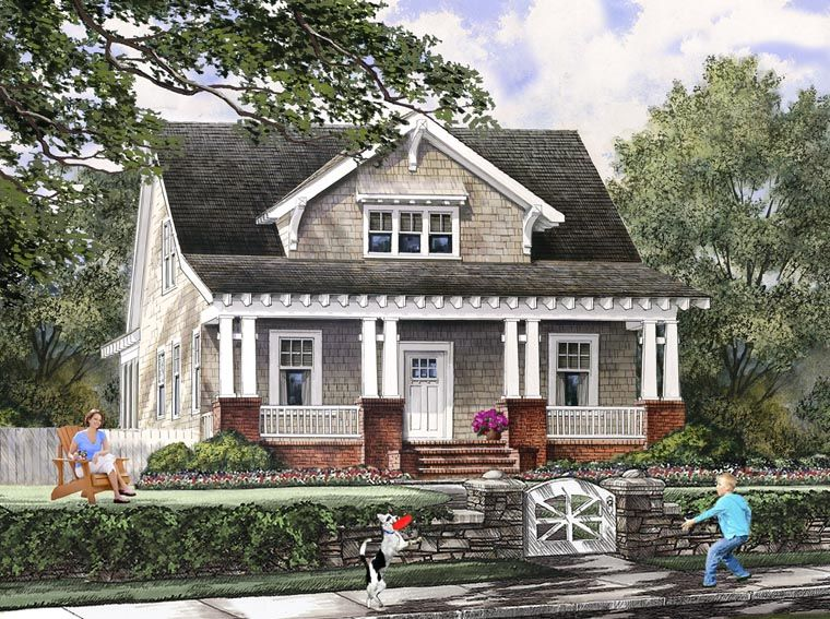 Bungalow Cottage Craftsman Farmhouse House Plan 86121   Ideas for     Bungalow Cottage Craftsman Farmhouse House Plan 86121