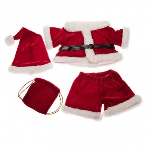 Santa Costume Outfit Teddy Bear Clothes Fit 14  - 18  Build-a-bear Vermont Teddy Bears and Make Your Own Stuffed Animals Stuffems Toy Shop ...  sc 1 st  Pinterest & Santa Costume Outfit Teddy Bear Clothes Fit 14