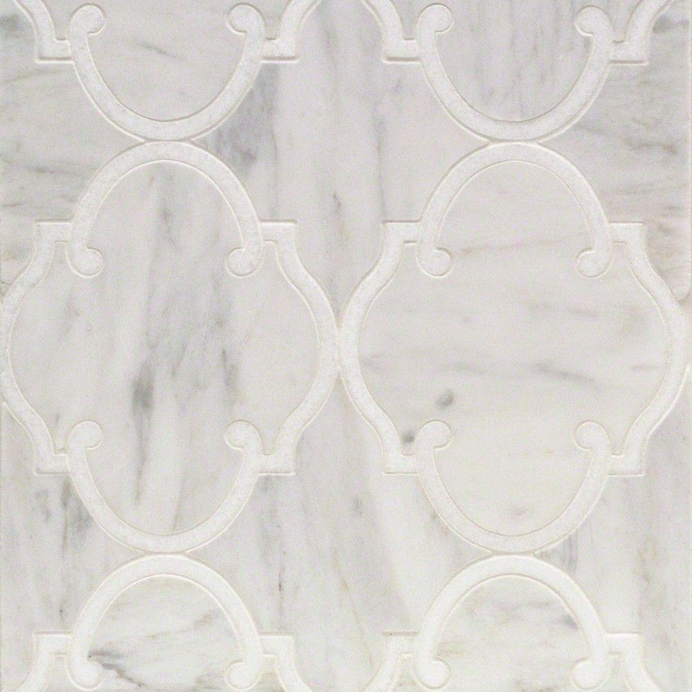 Highland marrakesh carrara with white thassos marble tile marble highland marrakesh white carrara with white thassos line marble tiles tyukafo