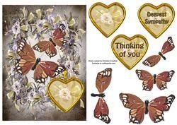 Sympathy Butterflies - Bronze