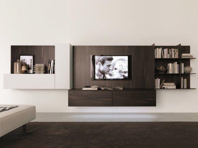 Meuble Tv Suspendu 25 Idees Pour Un Interieur Elegant Meuble Tv Suspendu Meuble Tv Unites