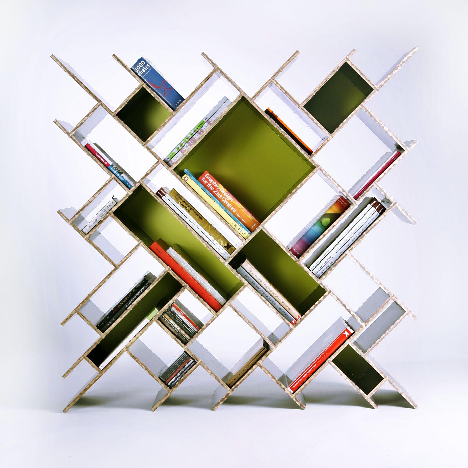 Product Design Innovative Storage Bookcase Quad By Contraforma
