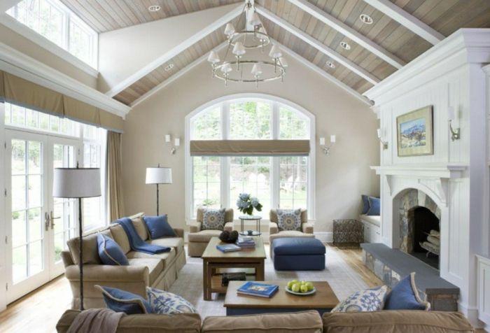 ▷ 1001 + Wohnzimmer Ideen für kleine Räume zum Entlehnen - wohnzimmer ideen kamin