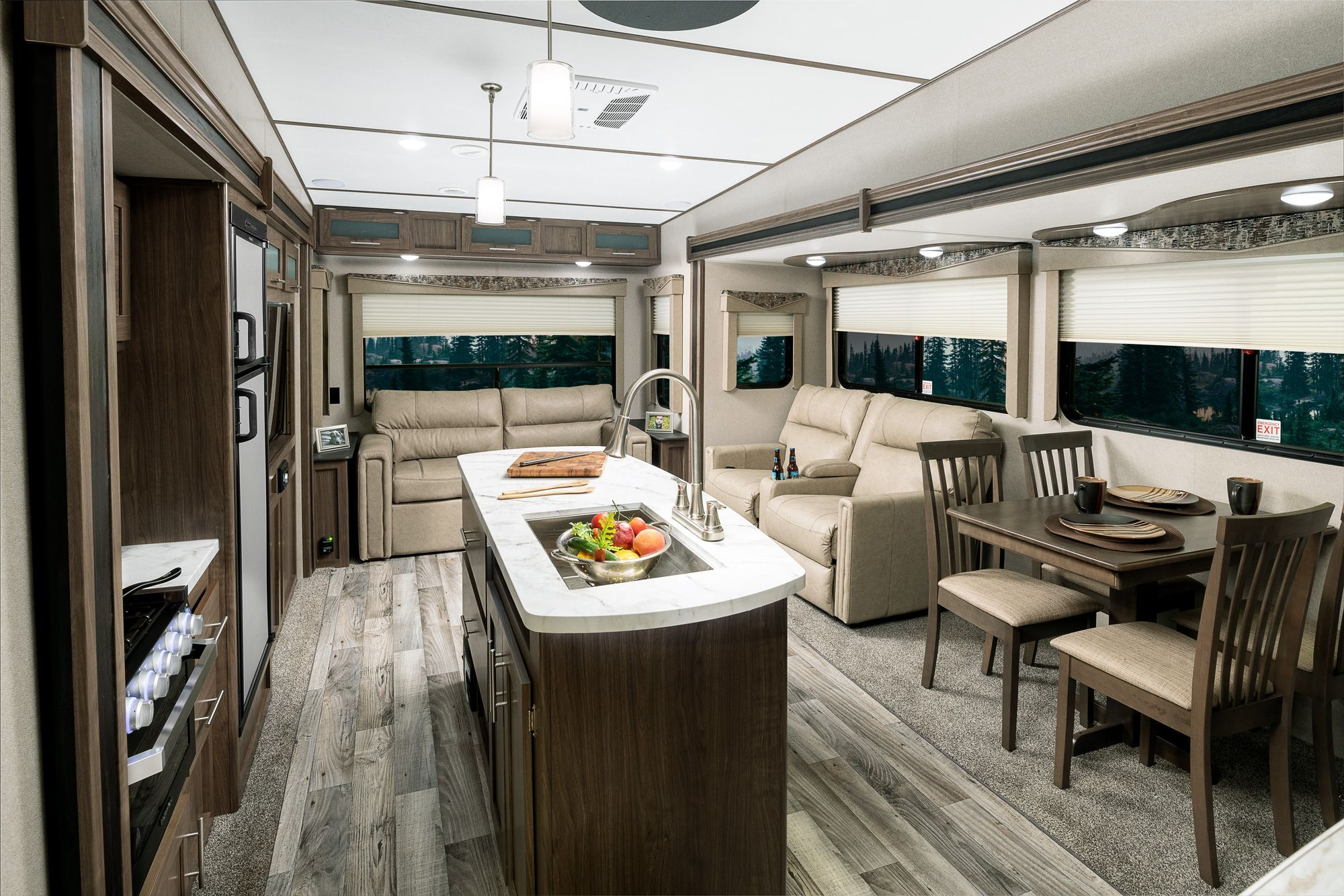 Keystone Hideout 299rlds Interior Fall 2019 Interior Travel