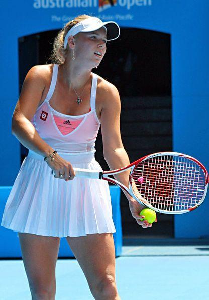 I Love To Watch Wozniacki Play Tennis Players Female Caroline Wozniacki Tennis