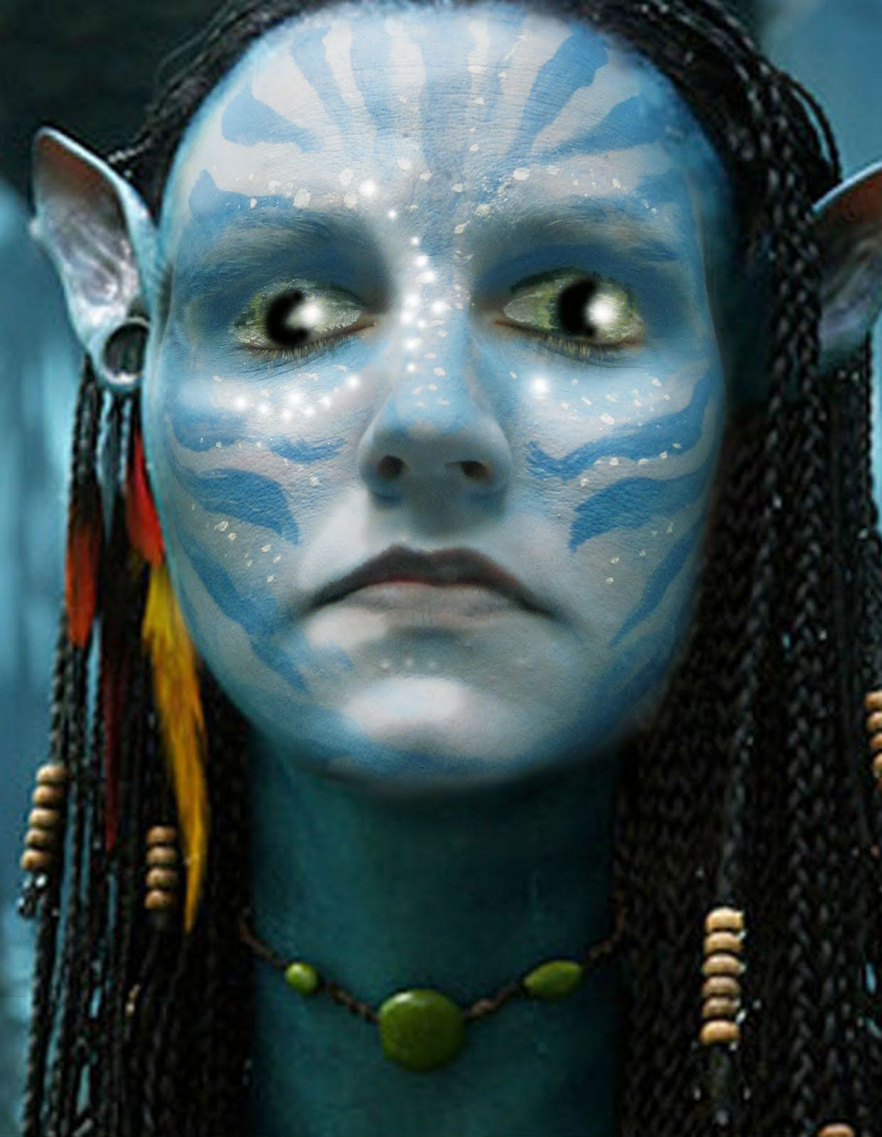 | How to Paint an Avatar Face for Halloween
