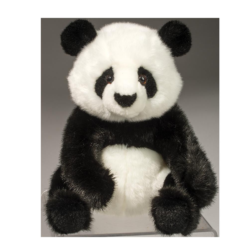 Kids Stuffed Animals Wildlife Artists Panda Cub Sitting Plush Toys 7 Stuffed Panda Bear