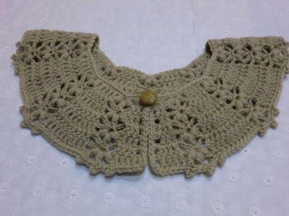 ご覧いただきましてありがとうございます。メリノウール100%の毛糸で編んだ、小花柄のつけ衿です。さつまいもから抽出した色素で染めた毛糸ですので、とても優しいお...|ハンドメイド、手作り、手仕事品の通販・販売・購入ならCreema。