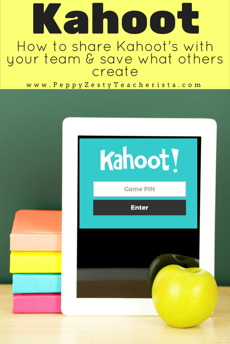 Kahoot Save and Share What Others Create Educational