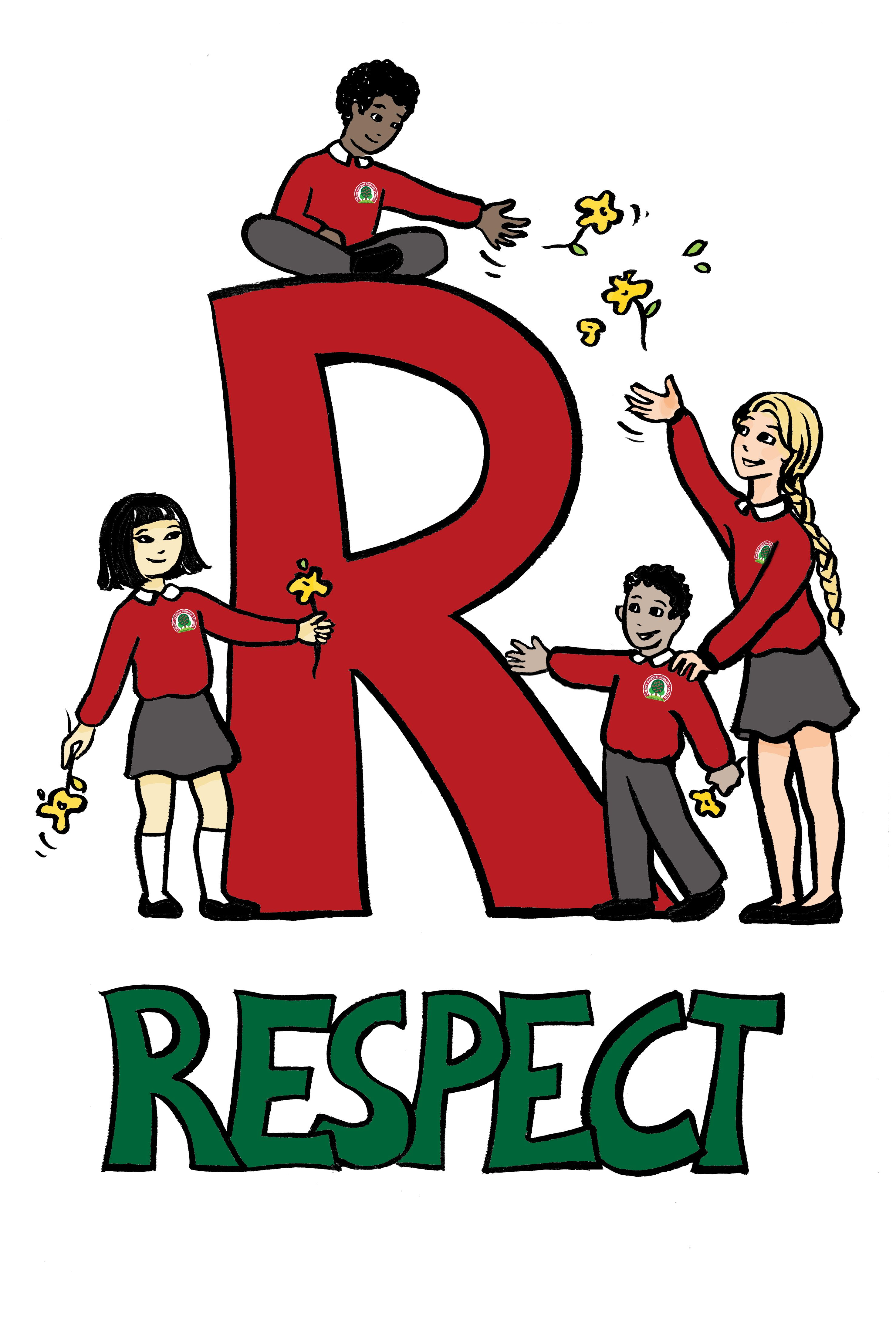 Showing Respect Clipart