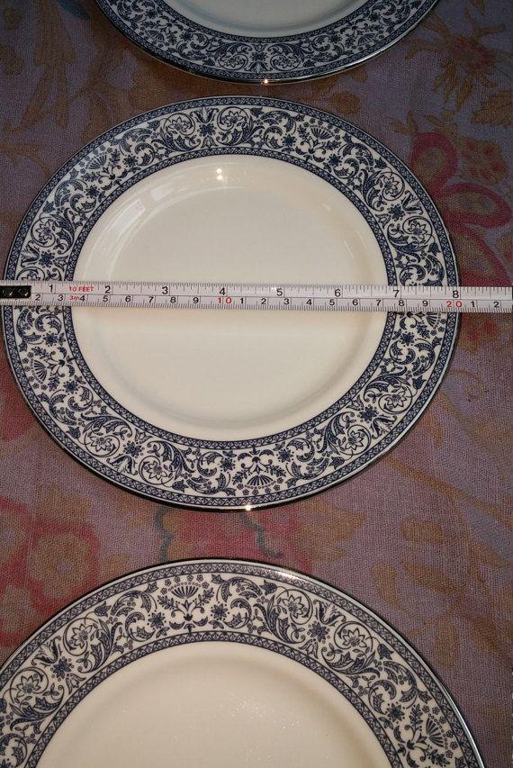 Set of 6 Englsh Minton Salad Plates 8 Inch Discontinued Minton ...
