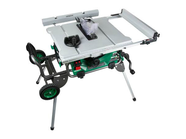 Hitachi Table Saw C10rj Review Pro Tool Reviews Jobsite Table Saw Table Saw Saws