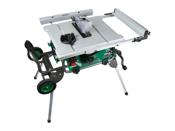 Hitachi Table Saw C10rj Review Pro Tool Reviews Jobsite Table Saw Table Saw Saws