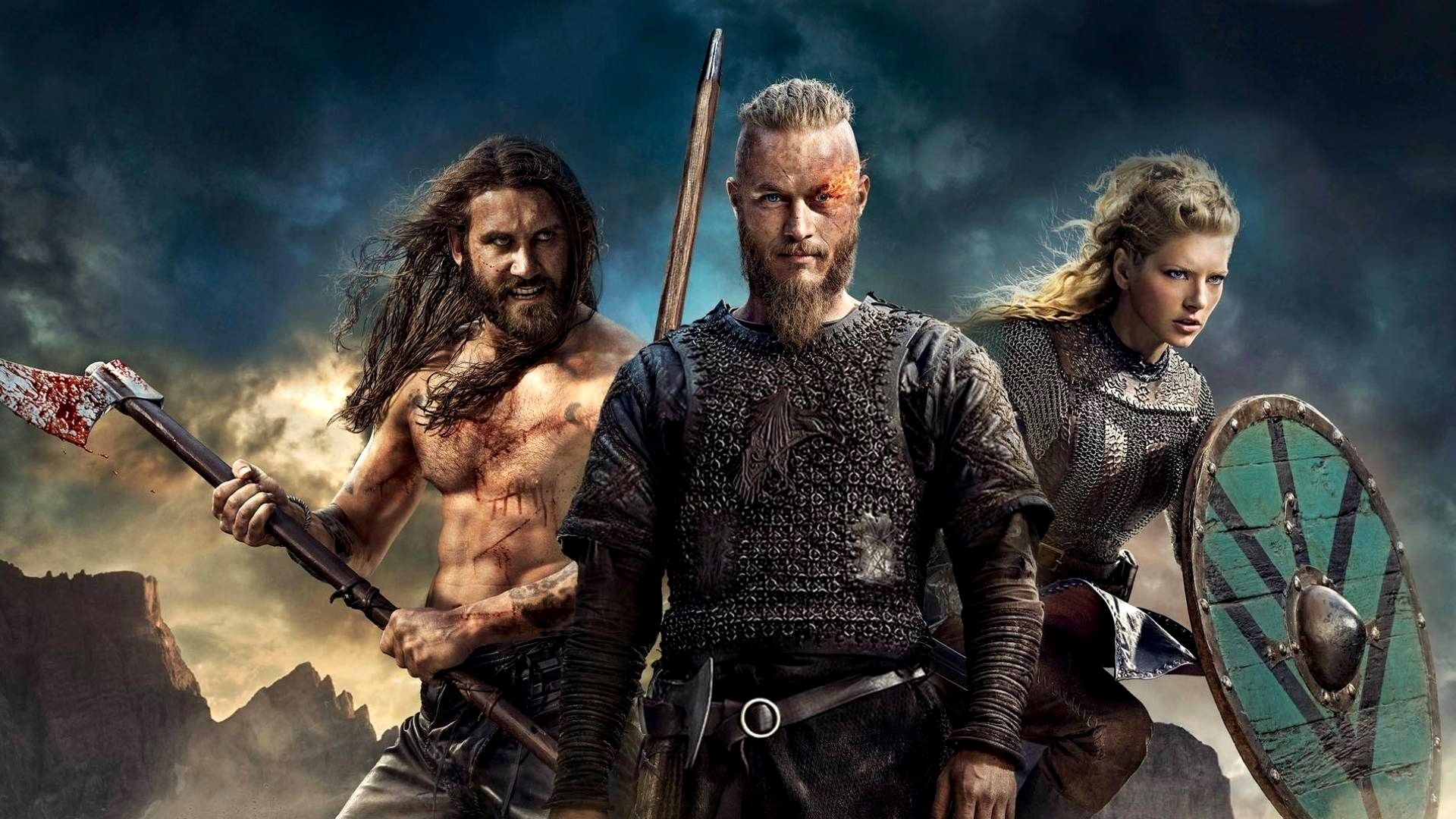 Vikings Wallpaper 4k Hd Gallery Viking Perang Kuda