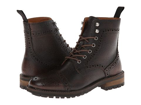 JD Fisk Forest   Mens lace up boots