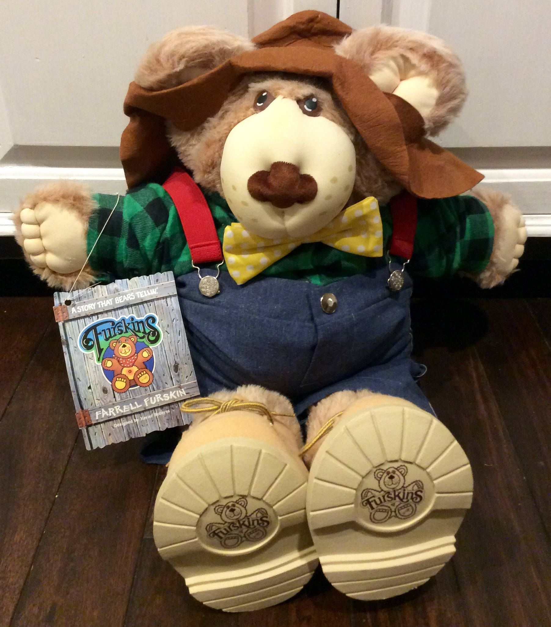 1986 Farrell Furskin Cabbage Patch Kids Cousin Etsy Cabbage Patch Kids Bear Plush Cabbage Patch