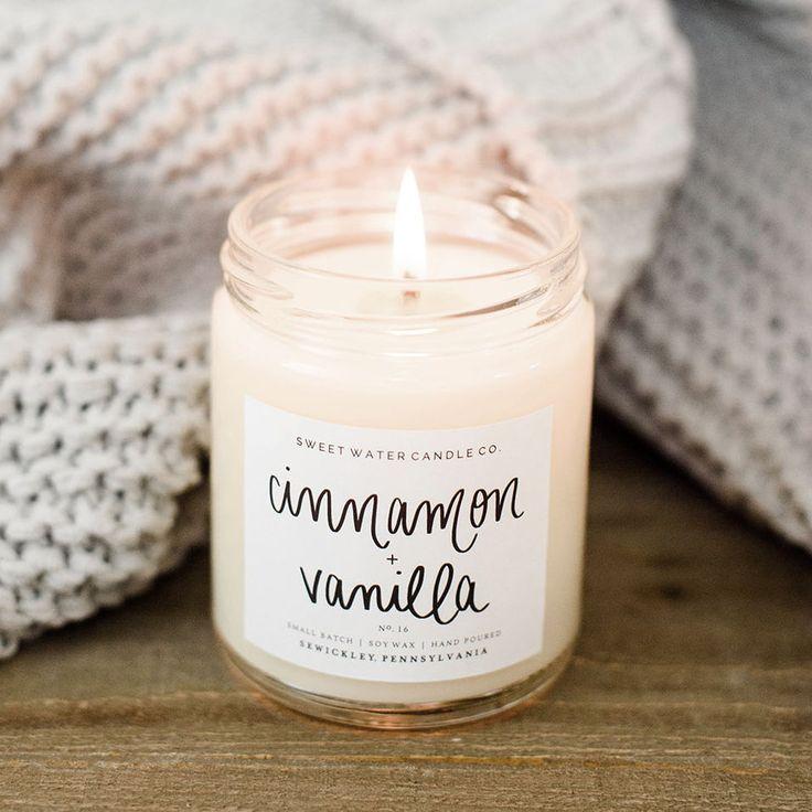 Cinnamon  Vanilla Soy Candle #candles